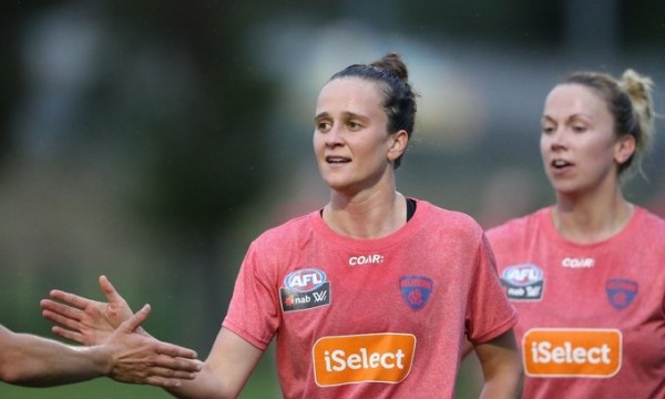AFL Women Melbourne Football Club Who is Harriet Training Session